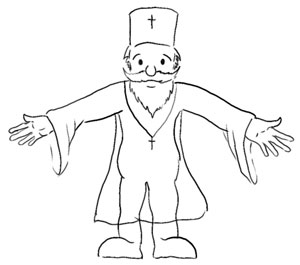 Sketch of Father Gabriel