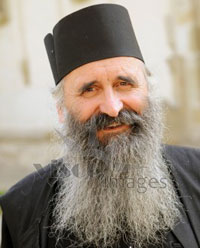 picture of Greek Orthodox monk